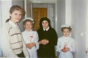 Сестра Анна Мерковская. Похороны.