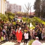 Вербное Воскресенье в Сочи и Адлере 2012г.